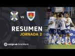 Resumen de CD Tenerife vs CD Numancia (3-2)