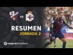 Resumen de SD Huesca vs RC Deportivo (3-1)