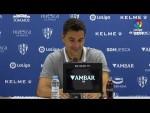 Rueda de prensa de  Míchel tras el SD Huesca vs RC Deportivo (3-1)