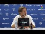 Rueda de prensa de  Juan Antonio Anquela tras el SD Huesca vs RC Deportivo (3-1)