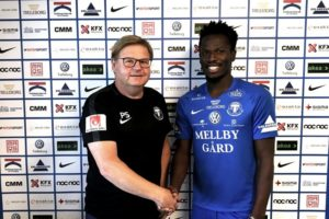 JUST IN:  Swedish side Trelleborgs FF sign Kotoko poster boy Fatawu Safiu