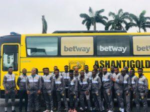 CAF Confederation Cup: AshantiGold leave Ghana ahead of Akonangui FC clash