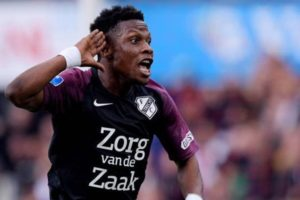 VIDEO: Issah Abass scores sensational goal for FC Utrecht in 1-1 draw with Feyenoord in Eredivisie