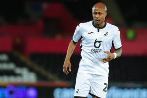 Andre Ayew features in Swansea City's 3-2 victory over Preston