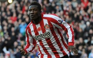 My name saved Ghanaians from losing their jobs in England, says Asamoah Gyan