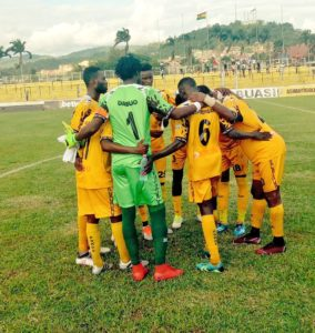 CAF Confed Cup: Ashgold draw one all on the road against Akonangui FC