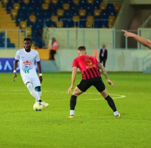 Ghana defender Joseph Attamah makes Rizespor debut in Turkish Super Lig