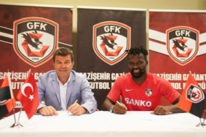 Ghanaian midfielder Aziz Tetteh completes Gaziantep FK transfer from Dynamo Moscow