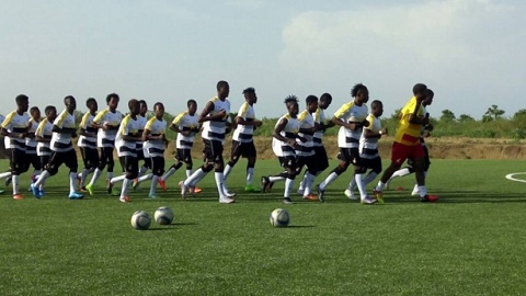 JUST IN: Black Stars B to start camping tomorrow