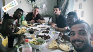 Espérance goalie Moez Ben Cherifia hosts Kwame Bonsu, others to celebrate Eid-ul-Adha