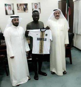 EXCLUSIVE: Former Aduana Stars striker Bright Adjei joins Kuwaiti side Burgan SC