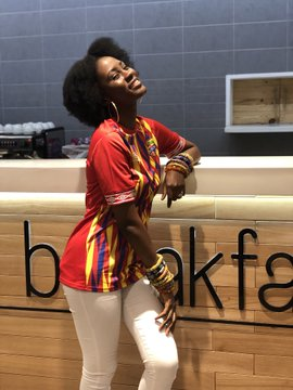 Highlife Musician Cina Soul models in new Hearts Of Oak kit
