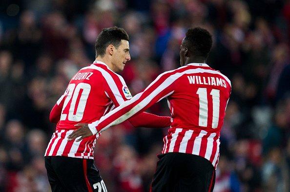 Iñaki Williams hoping striker Aritz Aduriz scores many goals before he says goodbye
