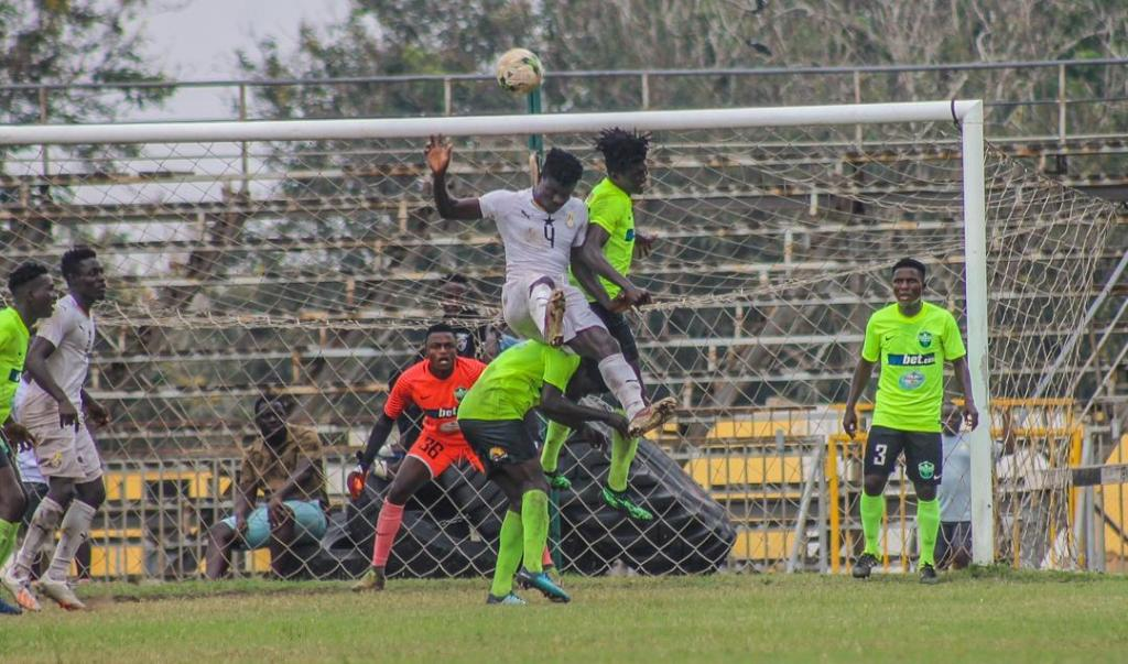 Black Meteors draw 2-2 with Dreams FC in friendly ahead of Algeria match