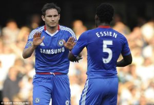 Michael Essien supports Chelsea's decision to appoint Frank Lampard as new head coach