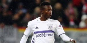 Anderlecht defender Emmanuel Adjei Sowah injured again