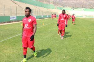 Fredrick Boateng starts training with Angolan side Desportivo da Huila