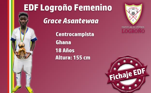OFFICIAL: Grace Asantewaa completes move to Spanish Side Logroño