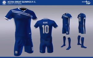Accra Great Olympics announce STRIKE as new kits sponsor
