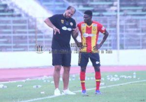 Midfielder Kwame Bonsu marks debut for Espérance against Al Nahda