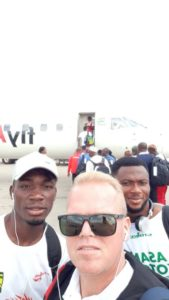 CAF CL: Kotoko land in Nigeria ahead of crucial clash with Kano Pillars