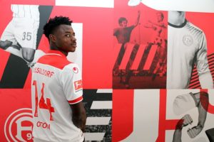 Kelvin Ofori reveals he joined Fortuna Düsseldorf to help his development
