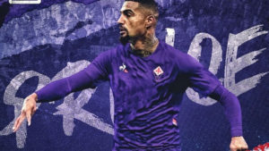 KP Boateng extends gratitude to Fiorentina for having belief in him