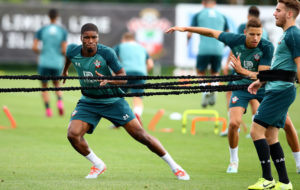 Ghana's Kevin Danso trains with Southampton ahead Liverpool clash
