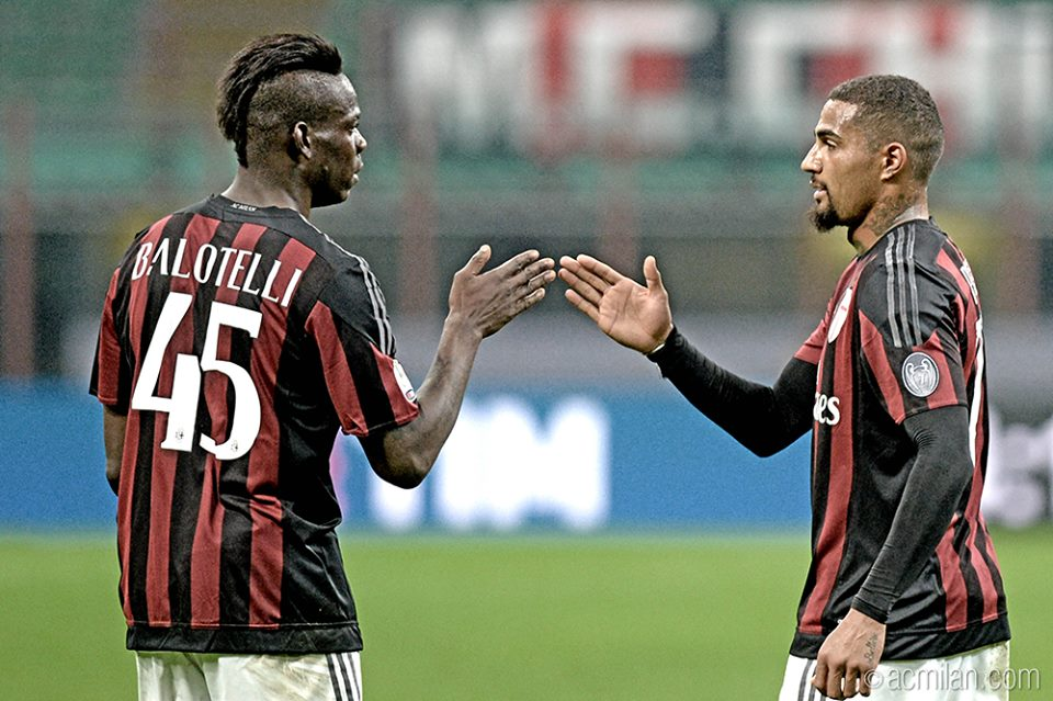 KP Boateng reveals support for Mario Balotelli over proposed move to Serie A side ACF Fiorentina