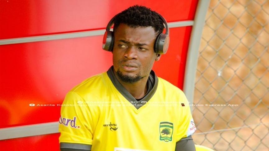 Goalkeeper Kwame Baah miss out on Kotoko's final 18-man squad for Kano Pillars clash