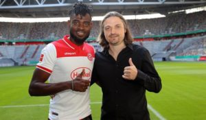 Ghanaian defender Kasim Nuhu excited with Fortuna Dusseldorf move