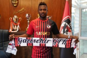 JUST IN: Patrick Twumasi joins Gazişehir Gaziantep F.K on loan from Deportivo Alaves