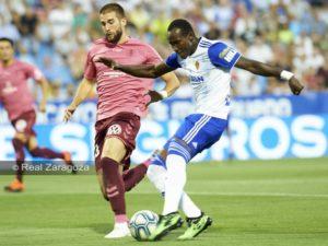 Ghanaian striker Raphael Dwamena makes Real Zaragoza debut in win over Tenerife