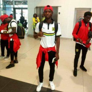 Kotoko's Richard Senanu arrives in Ghana to continue rehabilitation