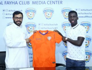 Black Stars winger Samuel Owusu joins Al-Fayha in Saudi Arabia