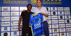 Ghanaian winger Thomas Agyepong makes Waasland Beveren debut in defeat to Genk