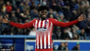 Thomas Partey set to play in Atletico Madrid's pre-season match against Juventus