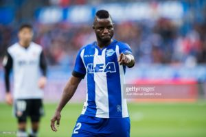 Wakaso trains with Alaves for the second time