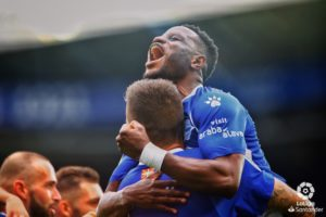 Mubarak Wakaso express delight after helping Alaves beat Levante on La Liga opening day