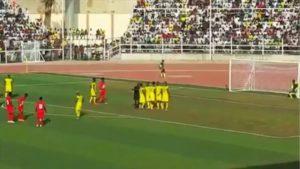 VIDEO: Watch Godfred Asiamah's beautiful free-kick goal for Kotoko against Kano Pillars