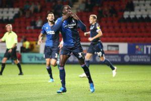 Ghanaian winger Albert Adomah scores to rescue point for Nottingham Forest against Charlton