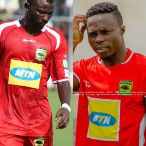 Injury blow to Asante Kotoko as Jordan Opoku and Augustine Okrah set to miss Kano Pillars clash