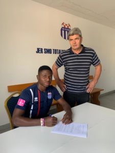 Accra Lions forward Seth Amoateng completes loan move to Croatian side NK Rudes