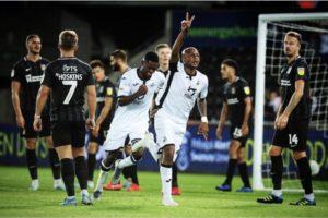 Swansea City forward Andre Ayew eyes full fitness
