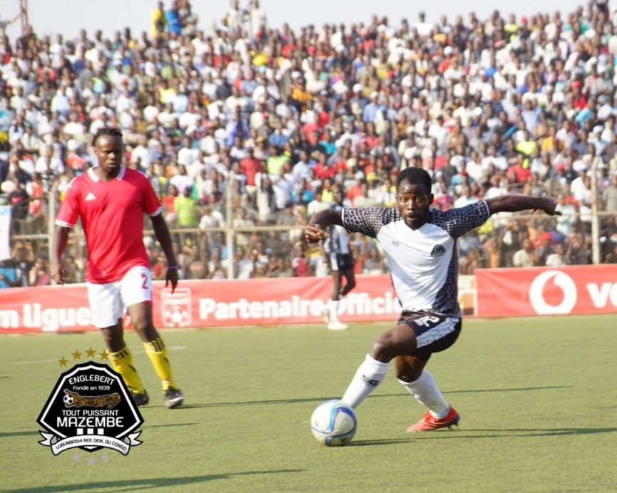 Torric Jebrin nets on his TP Mazembe debut