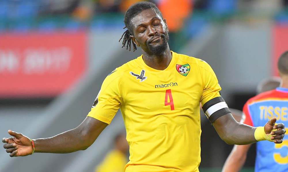 Togo international Emmanuel Adebayor joins Olimpia Asuncion