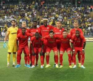 Ghanaian duo Tetteh and Chibsah suffer humiliating defeat to Fenerbahce on Gaziantep FK debut