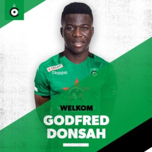 Belgian side Cercle Brugge sign Ghanaian youngster Godfred Donsah on loan