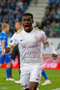 Ghanaian forward Joseph Paintsil scores as KRC Genk thump Waasland-Beveren
