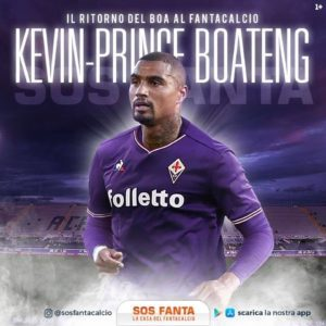 New Fiorentina number 10 KP Boateng insists he wants to do great things at the club